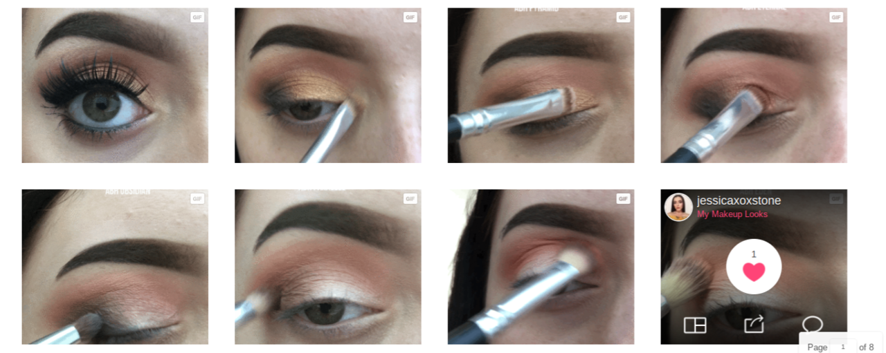 article, beauty, and eyeliner image