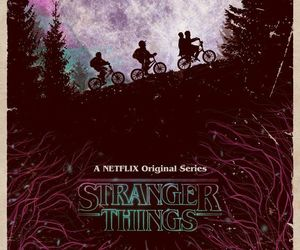 stranger things, eleven, and netflix image