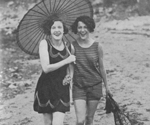 1920s, 1926, and beach image