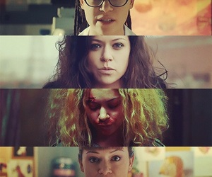 orphan black, alison, and helena image