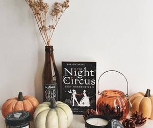 book, pumpkin, and aesthetic image