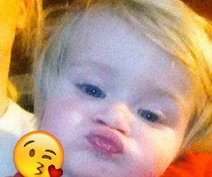 baby and theo horan image