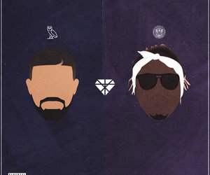 Drake, future, and dope art image