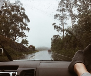 nature, trip, and road image
