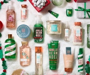 article, christmas, and bath and body works image