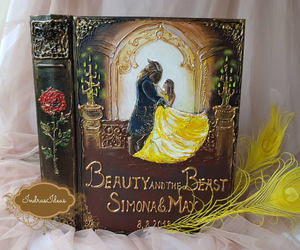 beauty and the beast, etsy, and once upon a time image