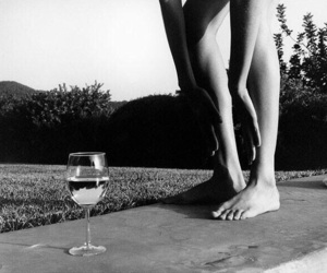 b&w, indie, and legs image