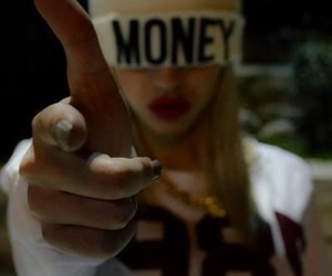 girl, money, and swag image