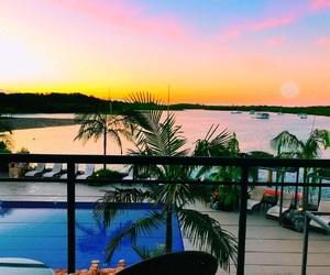 hotel, sun, and pool image