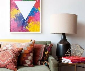 home decor, boho style, and apartment decor image