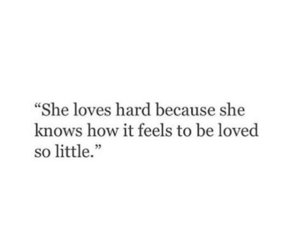 feels, hard, and quotes image