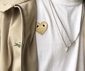beige, fashion, and cdg image