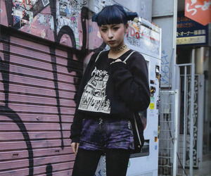 fashion, street fashion, and japanese fashion image