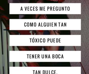 amor, frases, and español image