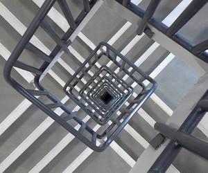 architecture, design, and gray image