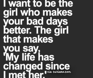girl and words image