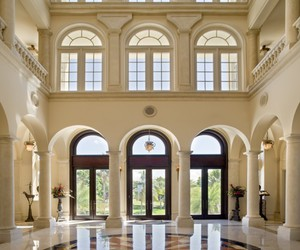 entrance, interior, and luxury image