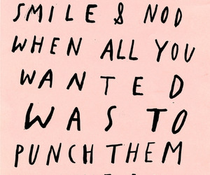 quotes, smile, and punch image