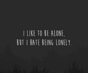 alone, background, and lonely image