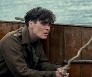 Christopher Nolan, cillian murphy, and dunkirk image