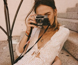 camera, fashion, and girl image