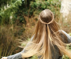 freedom, naturelover, and hair image