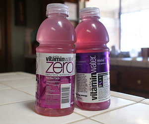vitamin water, drink, and water image