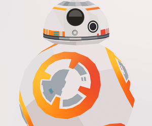 background, droid, and finn image