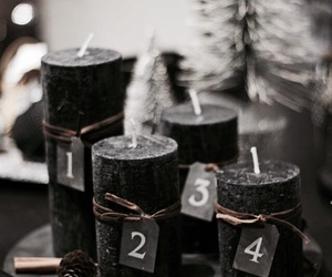 advent, candle, and december image