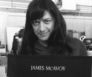 actor, james mcavoy, and instagram image