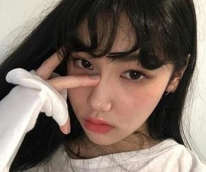 korean, ulzzang, and cute image
