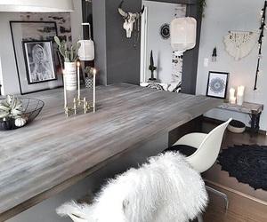 decor, gray, and room inspo image