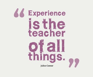 cosas, teacher, and experience image