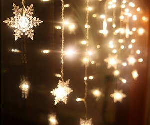 bright, stars, and holidays image