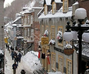 street and winter image
