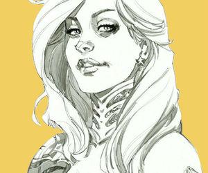 dc comics, wonder girl, and cassie sandsmark image