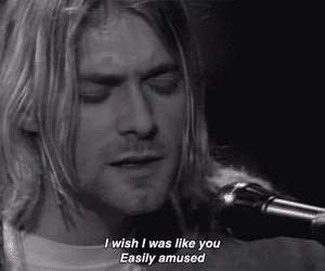 kurt cobain, nirvana, and Lyrics image