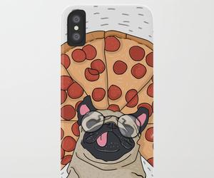 iphone case, pug iphone case, and pug phone case image