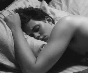 sleeping, hemlock grove, and roman godfrey image
