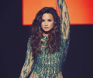 beauty, demi lovato, and performing image