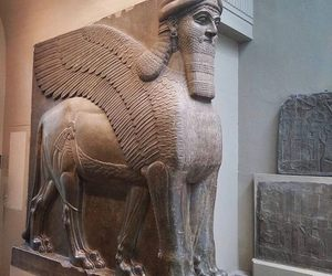 Assyrian, sculpture, and British Museum image