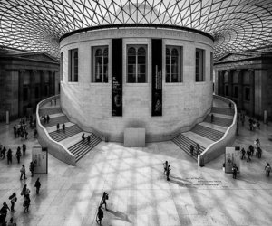 architecture, london, and black and white image