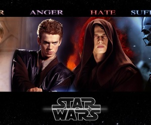 Anakin Skywalker, star wars, and anakin image