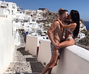 couple, scenery, and travel image