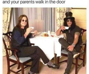 celebrities, funny, and Ozzy Osbourne image