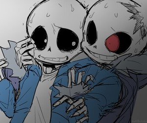 undertale and horrortale image