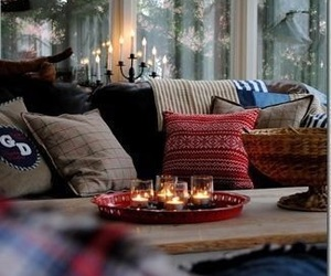 winter, cozy, and christmas image