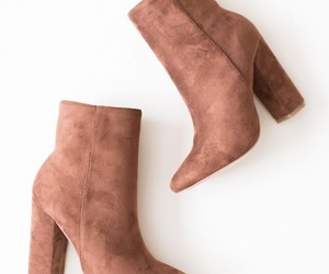 ankle boots, boots, and heels image