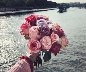 beautifull, flowers, and thankyou image