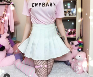 cry baby, tshirt, and cute image